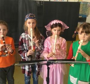 Hra na flautu - 1 | Krúžky v škole