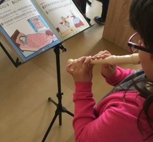 Hra na flautu - 2 | Krúžky v škole